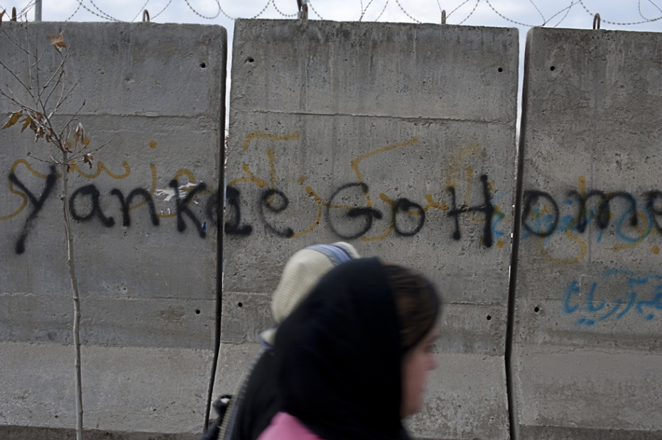 Yankee go home! Kabul