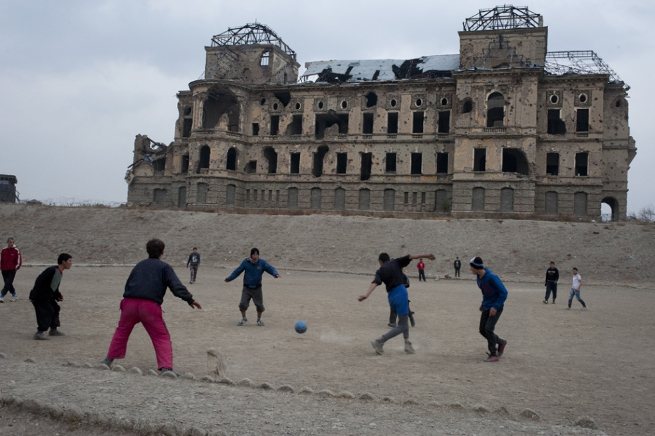 Match at the Shah, Kabul 2012